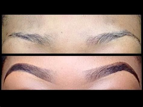 proper way to fill in eyebrows how i fill in my sparse thin eyebrows my eyebrow