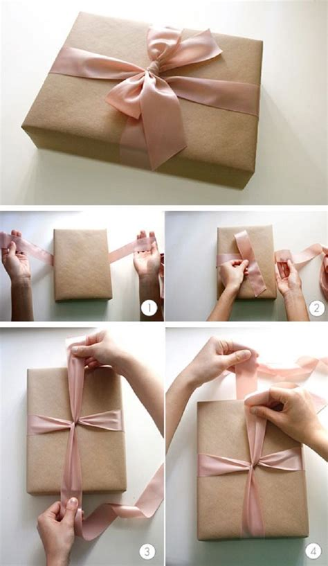 How To Make A Bow With Wrapping Paper - 14 useful yet unique diy gift wrapping tutorials you
