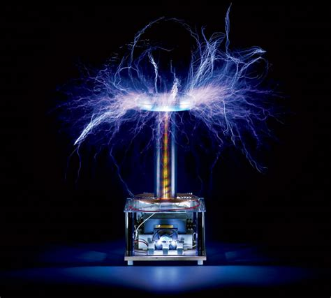 Tesla Coil Most Dangerous Object In The Office Btc40 Tesla Coil Wired