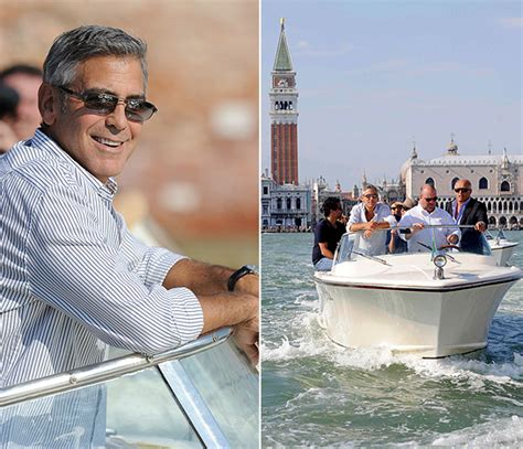 film oscar george clooney george clooney arrives at venice film festival by boat