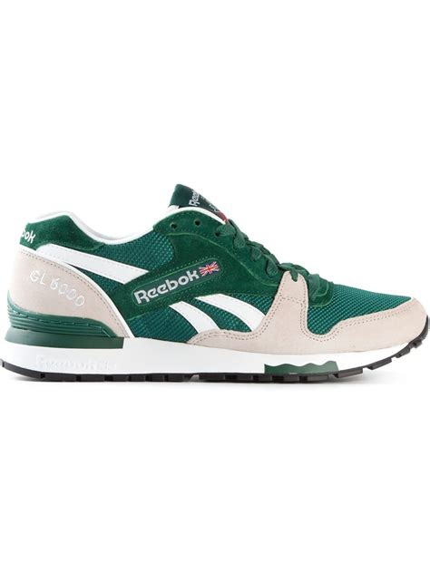 reebok sneakers for reebok gl 6000 sneakers in green for lyst