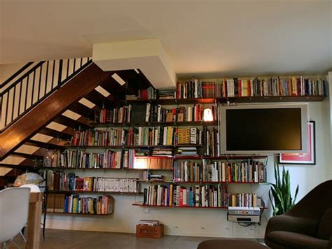 Bookshelf In Wall Nyc Custom Built In Bookcases Bookshelves Wall Units