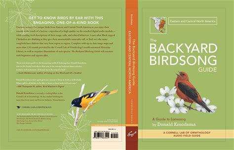 backyard birdsong guide backyard birdsong guides donald kroodsma