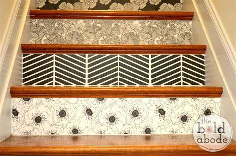 Where Do You Start When Wallpapering A Staircase
