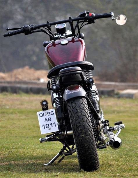 Modified Bobber by Modified Bobber Bullet Sale In Delhi Modified Bobber