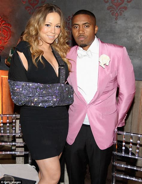 nas daily wife mariah carey asks nas to hook her up after split from
