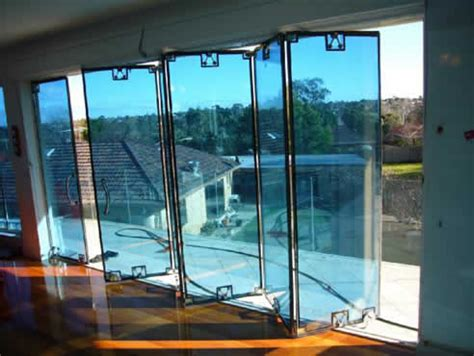 austvision glazed bi fold door system from