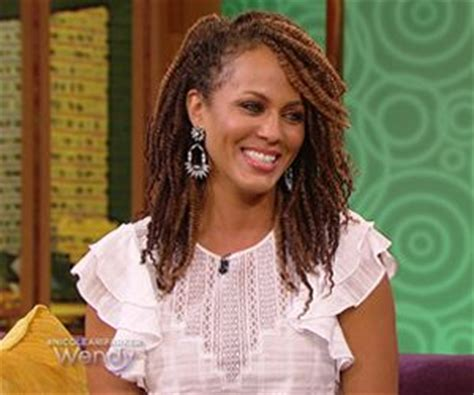 nicole ari parker cornrow hairstyle 41 best images about kinky twists on pinterest