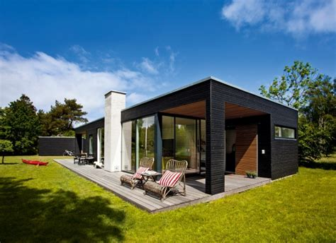 one storey house single story house in denmark