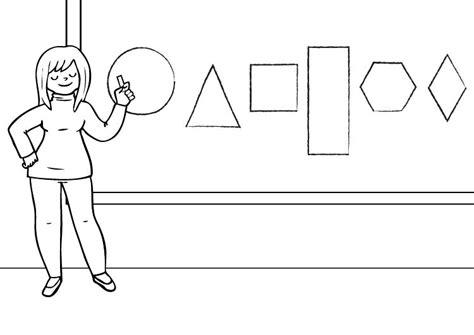 maestra de infantil fichas para imprimir maestra dibujo para colorear e imprimir