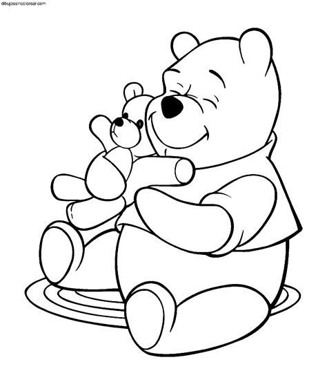 Imagenes De Winnie Pooh Sin Pintar | dibujos de winnie the pooh para colorear