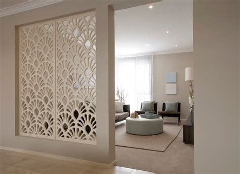Living Room Partition Design by Partition Wall