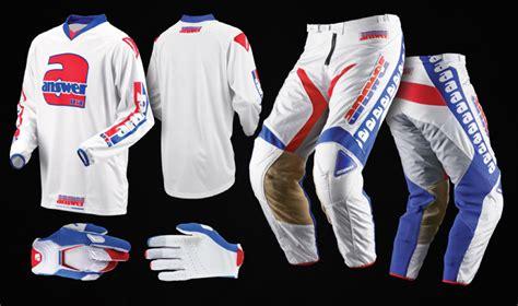 answer motocross gear answer racing retro dirt bike gear motorsport retro