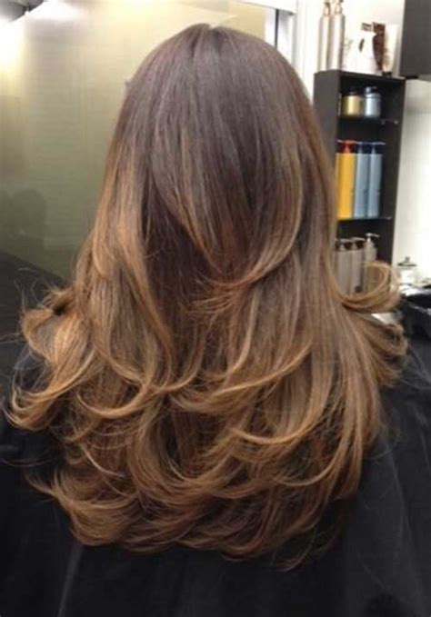 short layers on top and long layers in back haircuts 35 long ombre hairstyles