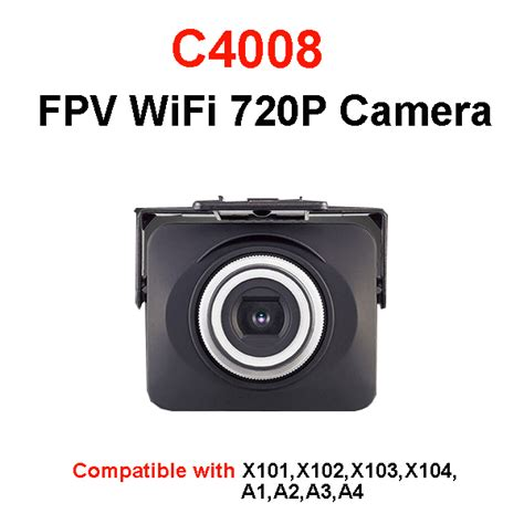 C4008 Hd 720p Wifi Real Time For Mjx Mjx C4008 720p Rc Quadcopter Aircraft Spare Parts Wifi Fpv
