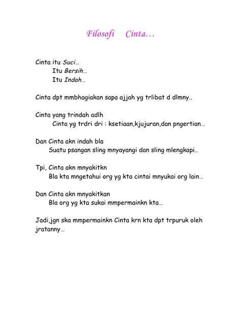Syari Indah 1 filosofi cinta