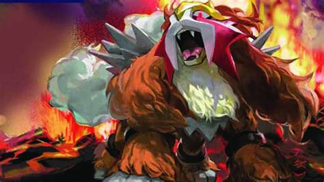 legendary dogs entei the three legendary dogs fan 22986079 fanpop