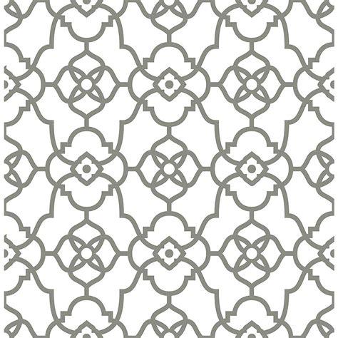 grey wallpaper trellis tempaper bronze grey marrakesh wallpaper ma083 the home