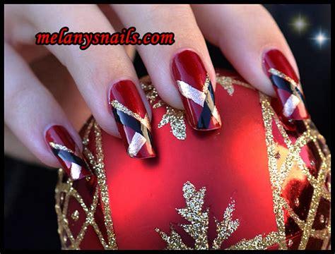 imagenes uñas acrilicas de navidad melanys nails u 209 as decoradas modelos para navidad