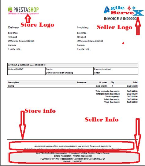 ebay invoice template my tech memo june 2012