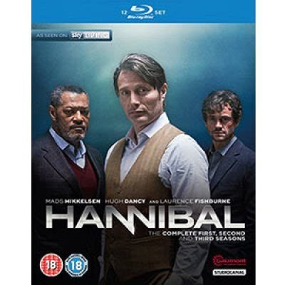 Hannibal The Complete Series Bluray hannibal complete season 1 3 boxed set just 19 99 reg 34 99 free shipping oh