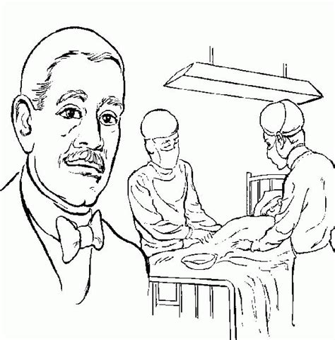 george washington carver coloring pages coloring home