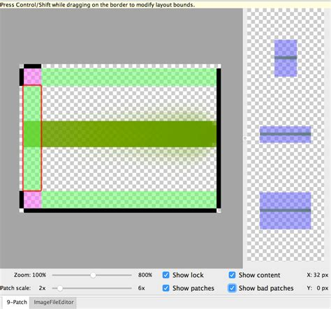 Drawing 9 Patch by Create Resizable Bitmaps 9 Patch Files Android Developers
