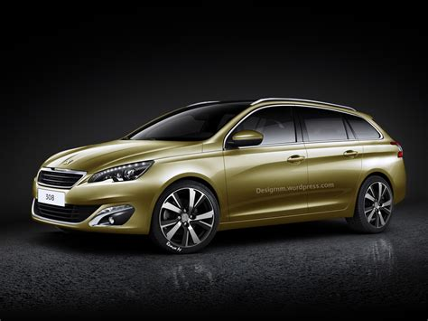 peugeot 2014 models 2014 peugeot 308 sw rendered autoevolution