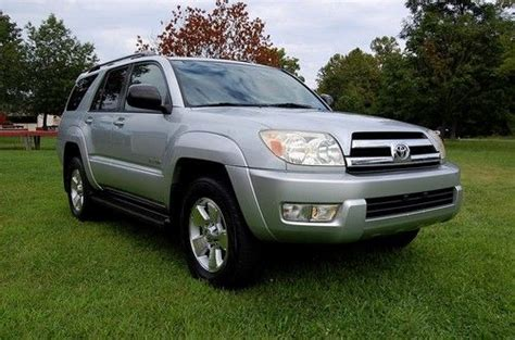 2005 Toyota Transmission Find Used 2005 Toyota 4 Runner Sr5 4 Wheel Drive Auto