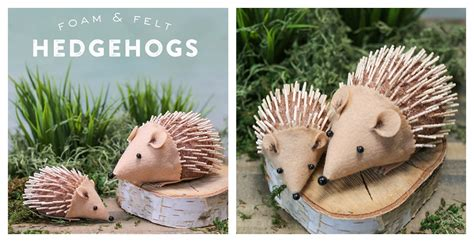 hedgehog crafts for diy hedgehog craft for