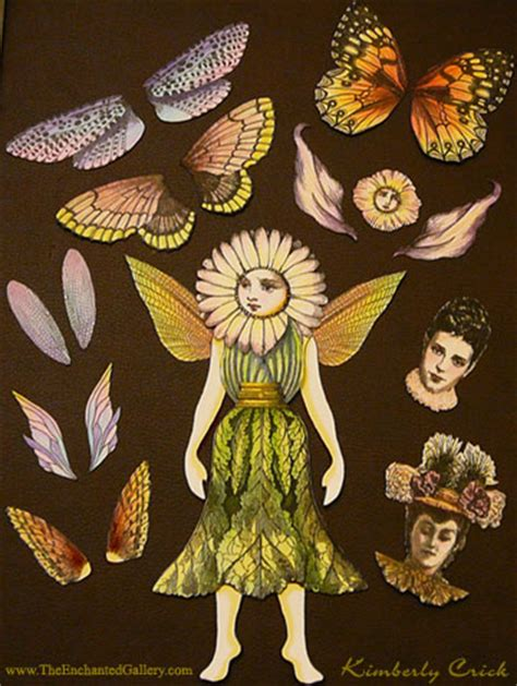 How To Make Paper Fairies - wings rubber sts wing set for paper dolls