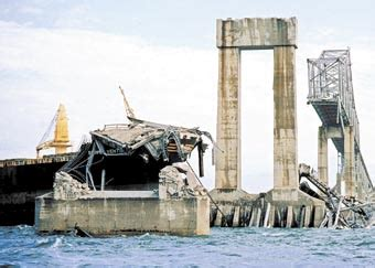 boat crash by skyway the sunshine skyway bridge the creepy and the miraculous