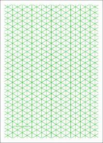 Isometric Grid Template by Isometric Graph Paper 12 Free Documents In Pdf