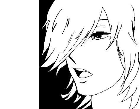imagenes de anime kawaii para pintar dibujo de chico anime para colorear dibujos net