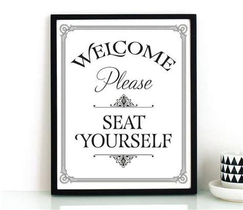 bathroom wall printable seat yourself