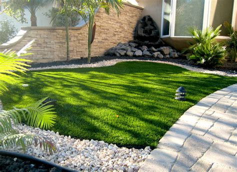 Landscape Design Pictures For Small Yards Advantages Of Artificial Grass Installation San Diego Ca