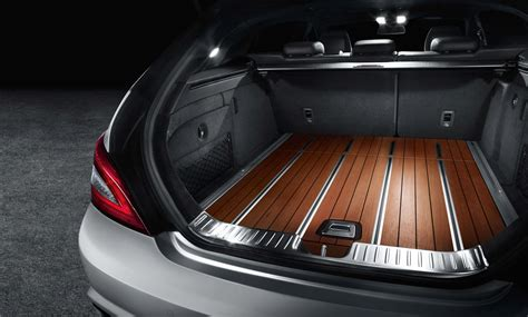 boat rail cls cherry trunk in the 2012 mercedes cls shooting brake