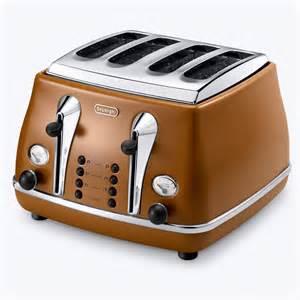 Toaster Canada Delonghi Vintage Icona 4 Slice Toaster Ctov4003 Tan