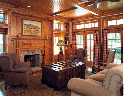 how to decorate wood paneling custom knotty pine paneling mantel family room by culin