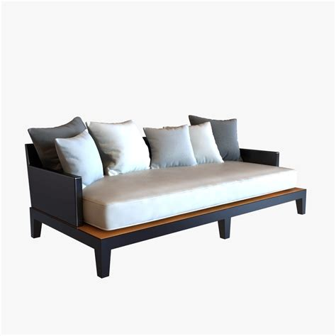 hunt sofa 3d model christian liaigre sofa for hunt opium 3d model max