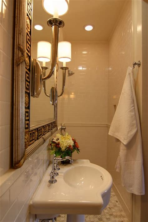 converting powder room to full bath closet to bathroom conversion traditional bathroom
