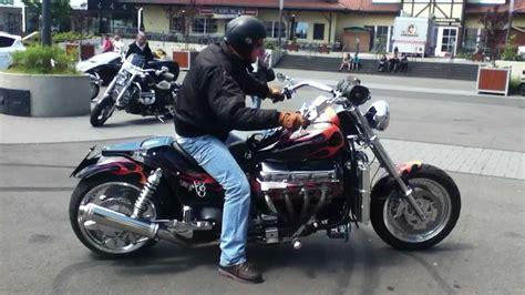 Boss Hoss V8 Motorcycle 8 Zylinder Motorrad by Bosshoss Motorcycle Hammer Sound Youtube
