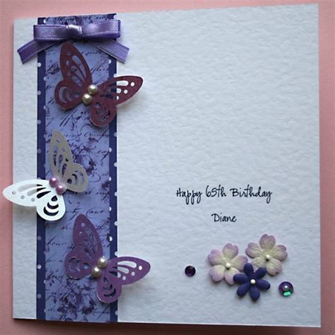 Handmade 50th Birthday Cards - handmade personalised birthday card for 21st 3 folksy