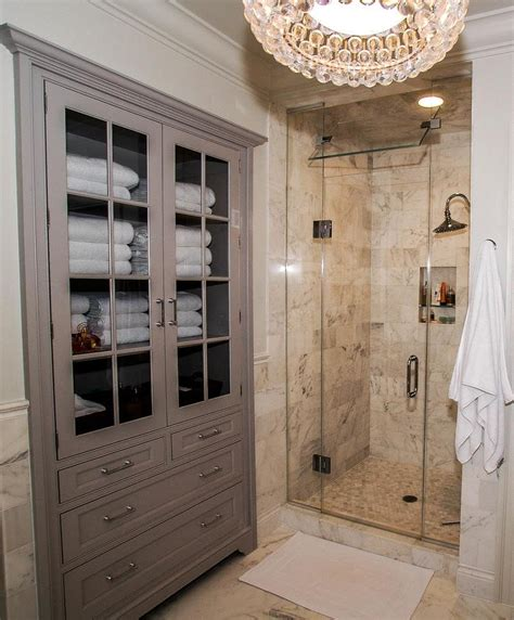 bathroom linen cabinets clever storage options � the homy