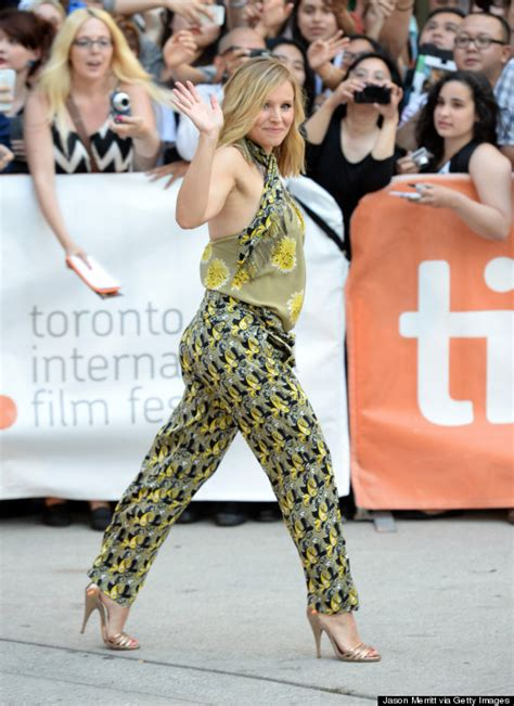 Kristen Bell by Pregnant Kristen Bell Is A Ray Of Sunshine In Floral