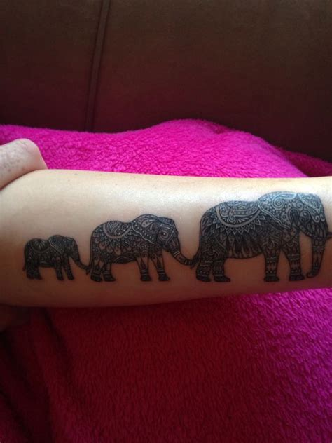 tattoo elephant family 17 best images about tattoo elephants family awesome