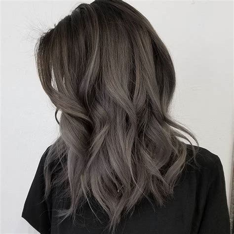 black grey hair best 25 dark grey hair ideas on pinterest grey hair or