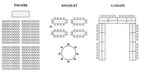 seminar seating layout superior conference center rooms wisconsin indianhead