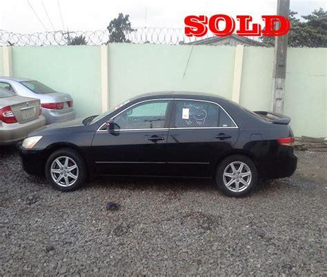 sold 2 units of 2003 2004 honda accord ex wt navigation