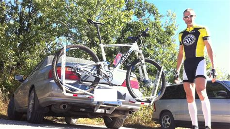 1 up racks 1up usa quick rack hitch mount bike rack first look review